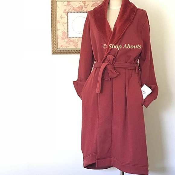 UGG Duffield Cozy Fleece Lined Wrap Robe Size XL. M 5a513531b7f72b72f701e41f d7d796538